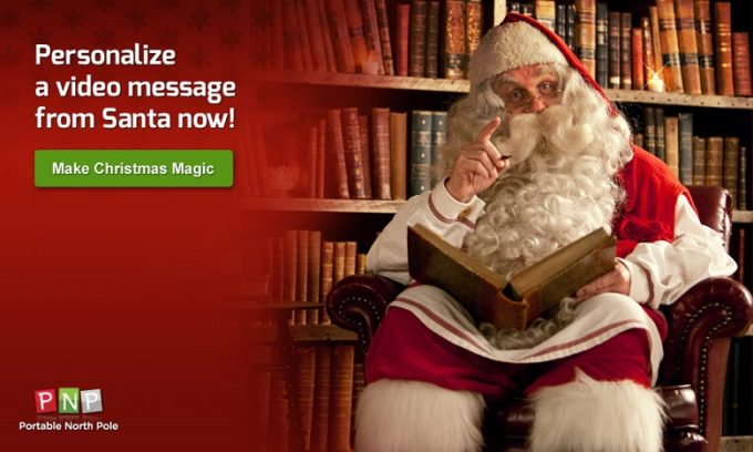 Santa PNP 2013- Santa Is Back at the Portable North Pole!