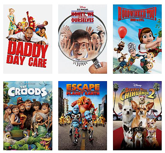 Titles on Netflix
