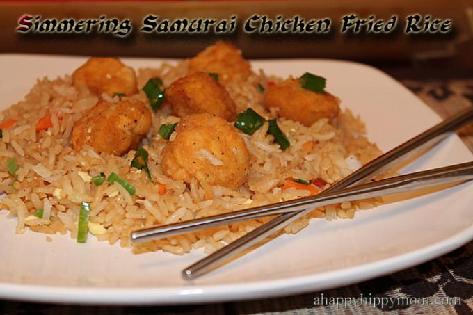 Simmering Samurai Chicken Fried Rice