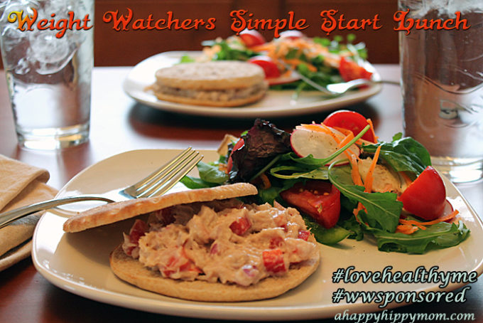 Weight Watchers Simple Start Plan- Showing Some Self-Love! #lovehealthyme