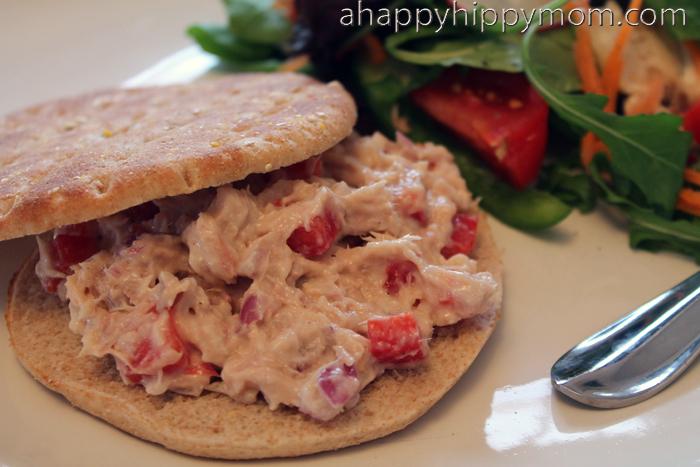 Weight Watchers Simple Start Tuna Sandwich