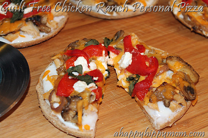Thomas Bagel Thins Chicken Ranch Pizza Recipe & Prize Pack Giveaway!