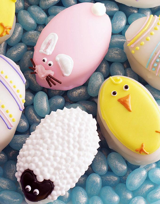 Easter Lemon Egg Shaped Cakes!