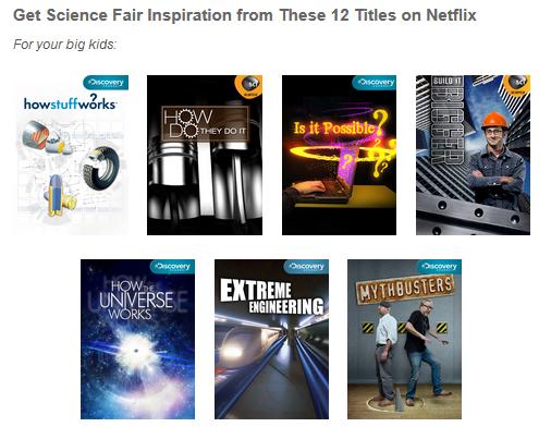 Netflix Science Titles