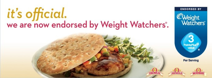 arnold endorsed by weight watchers