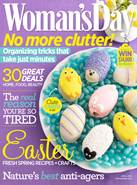 Woman's Day April '14 cover