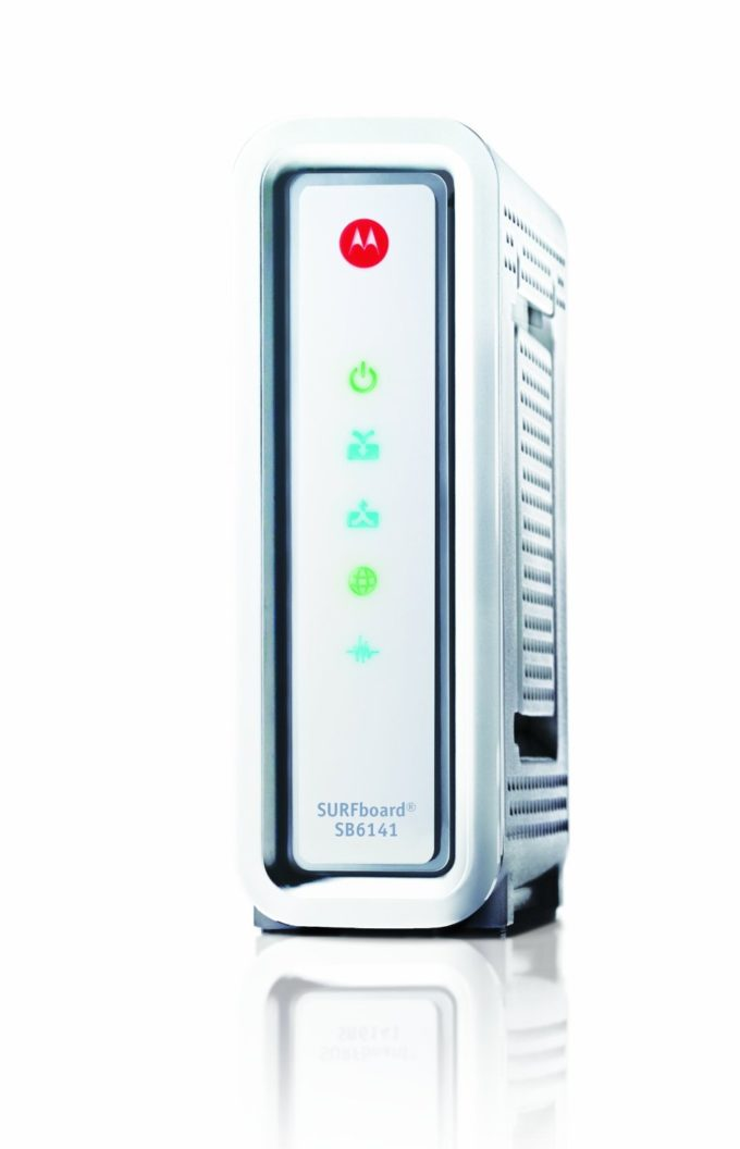 Spring Clean Your Network with ARRIS Motorola SB6141 SURFboard Giveaway! ($99 Value!)