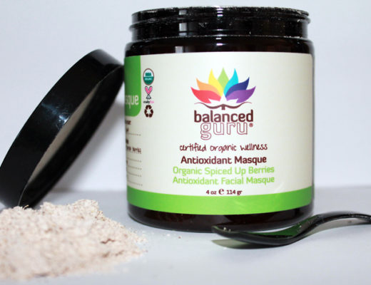 Balanced Guru's Organic Spiced Up Berries Antioxidant Masque