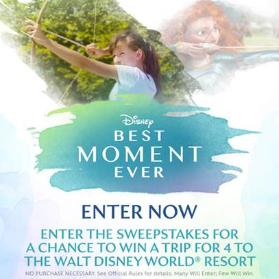 Best Moment Ever sweepstakes