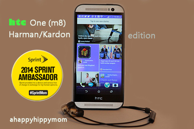 HTC One M8 Harman Kardon edition #Sprintmom Review