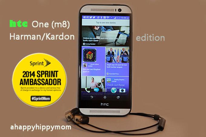 HTC One M8 Harman Kardon edition #Sprintmom Review