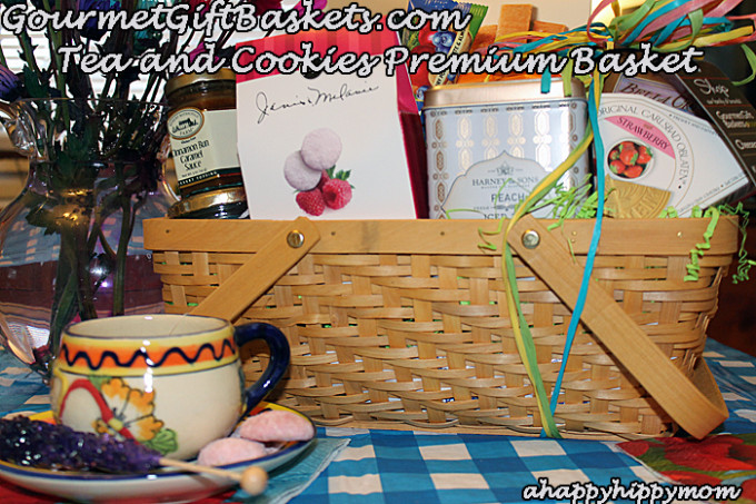 Tea and Cookies Premium Basket