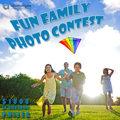 Aluminyze Fun Family Photo Contest & 40% Off Discount Code!