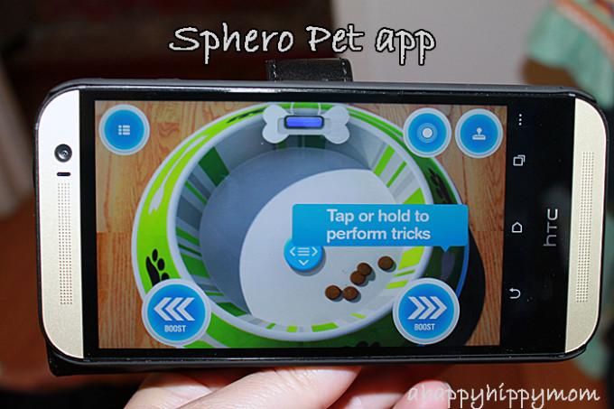 Sphero Pet app