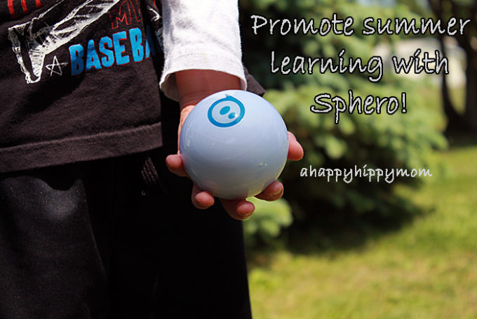 Promoting educational play during summer with Sphero!