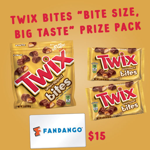 Twix Bites: Who Would You Share Your Bites With?  Prize Pack Giveaway! #Twixbites