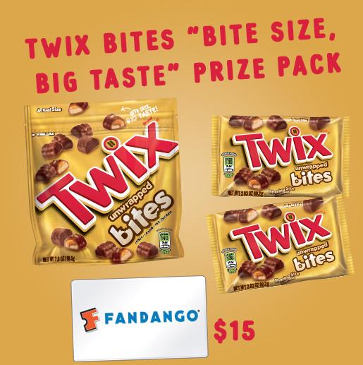 TWIX Bites Prize Pack