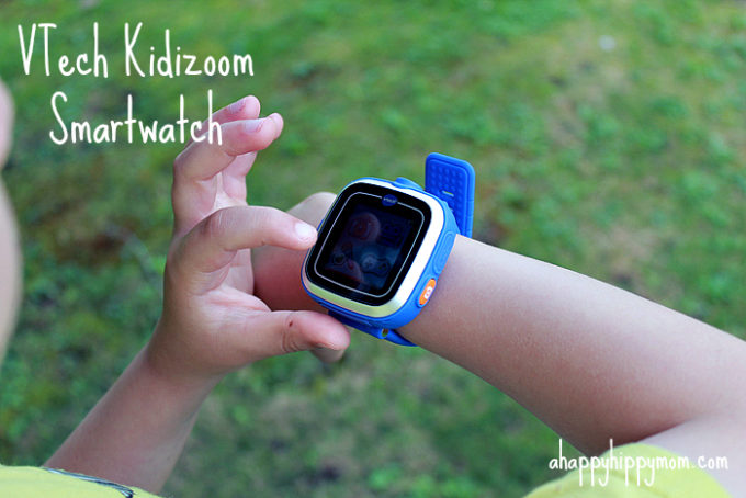 NEW VTech Kidizoom Smartwatch Review & Giveaway!