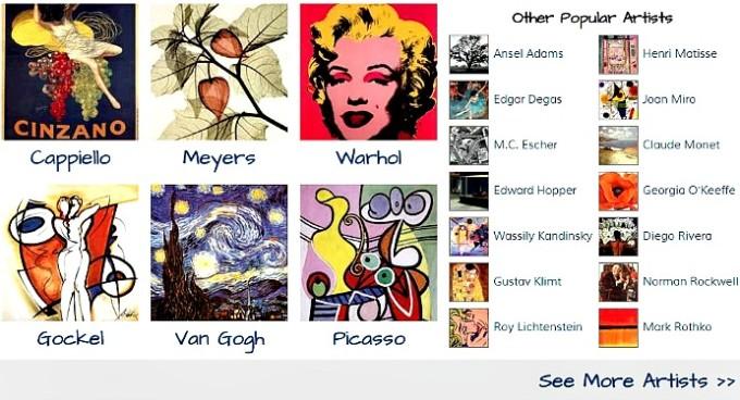 Fulcrum Gallery artists