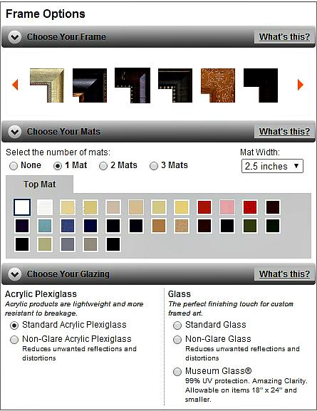 Fulcrum Gallery options