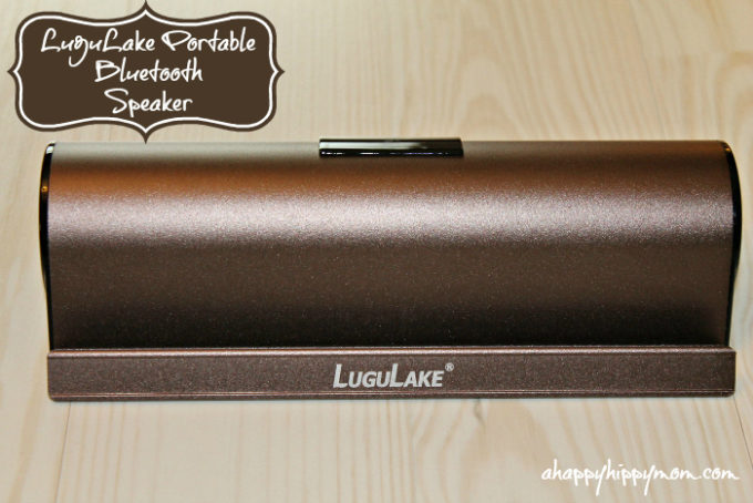 LuguLake Portable Bluetooth Speaker Review & Giveaway