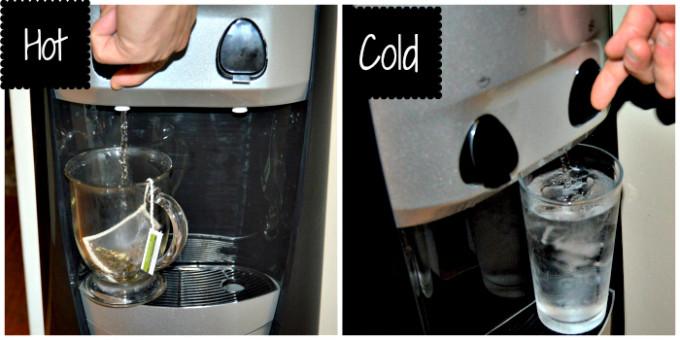 NewAir Water Dispenser Hot Cold