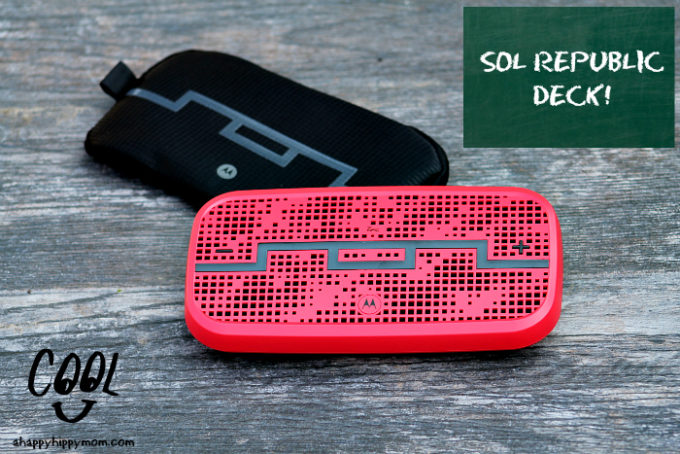 SOL REPUBLIC DECK Easing Back-to-school Stress & Giveaway! @SOLREPUBLIC