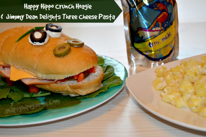 Funtastic Easy Back-to-school recipes and Lunch Solutions! Happy Hippo Crunch Hoagie! #PriceChopperB2S #shop #cbias