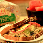 Creamy Chicken Salad with Grilled Apples Sandwich Recipe, Arnold Bread Contest & Giveaway!