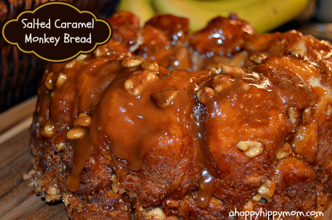 salted caramel monkey bread