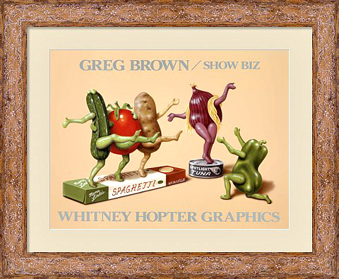 show-biz-framed-art-print