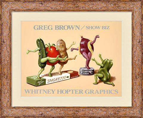 show-biz-framed-art-print