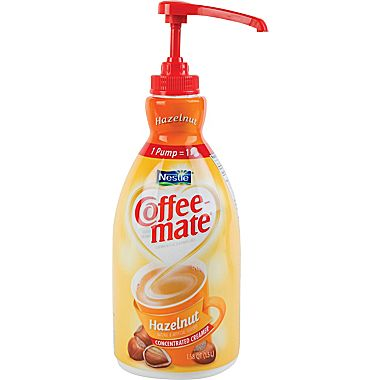 Coffee mate hazelnut