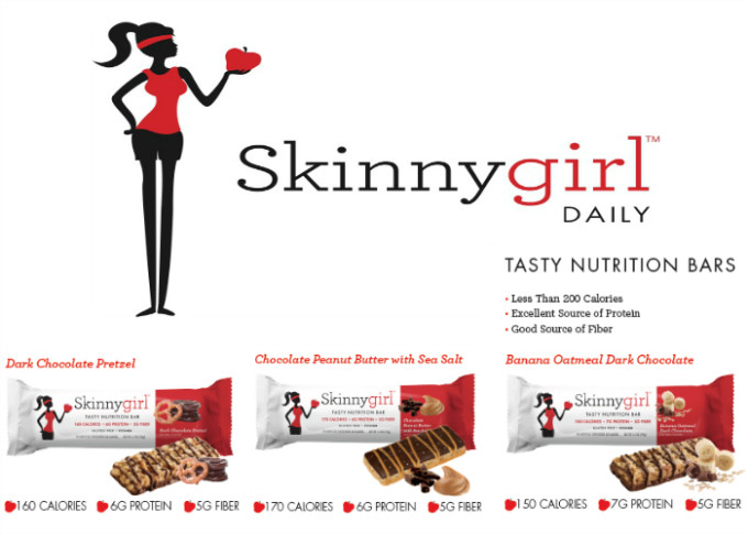 Skinnygirl Tasy Nutrition Bars