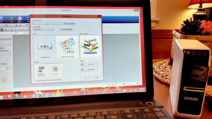 epson LW-600P PC software