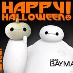 Happy Halloween! FREE Baymax Pumpkin Template & Friendly NIH Reminder!