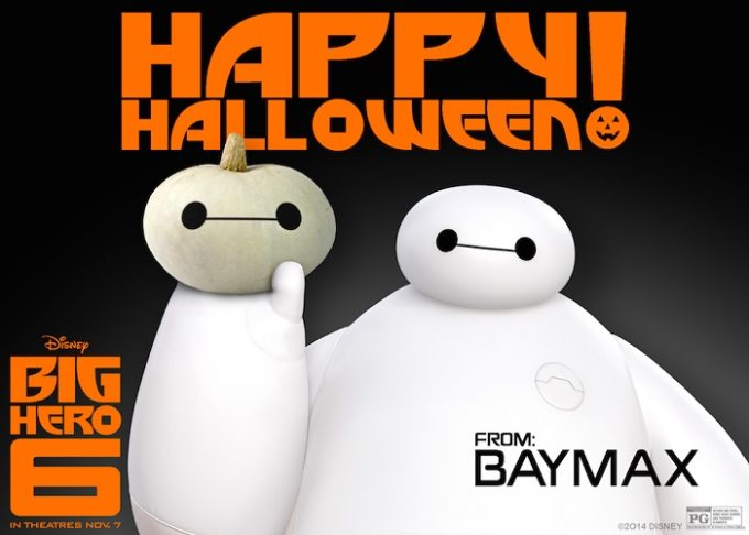 Happy Halloween! FREE Baymax Pumpkin Template & Friendly NIH Reminder!