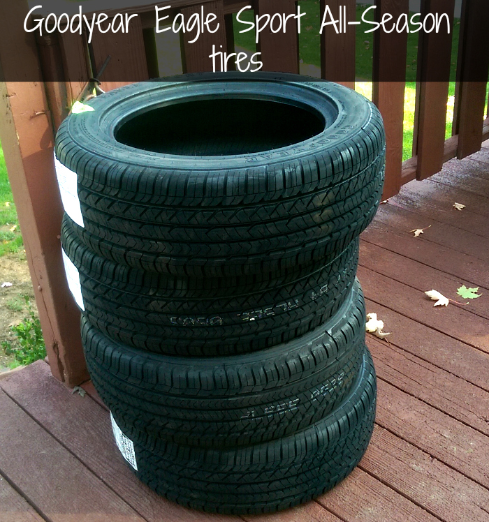 tire maintenance goodyear eagle sport all season tires review a happy hippy mom. Black Bedroom Furniture Sets. Home Design Ideas