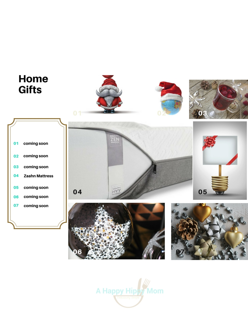 holiday gifts HOME