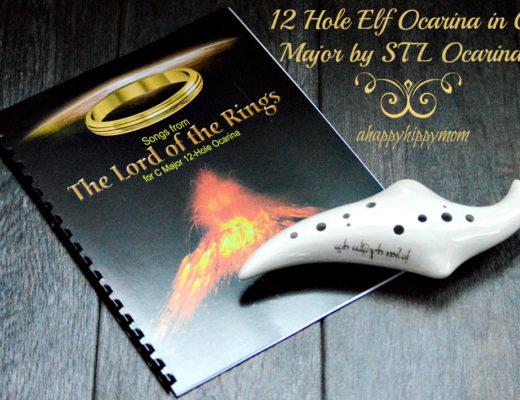 12 Hole Elf Ocarina in C Major