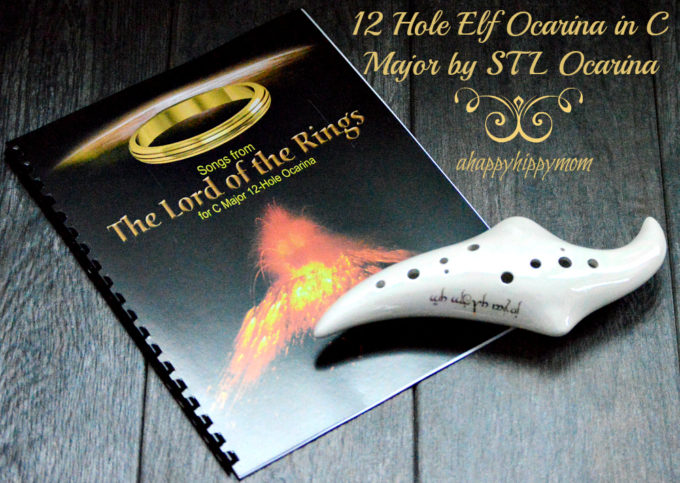 Unique Gifts – 12 Hole Elf Ocarina in C Major by STL Ocarina