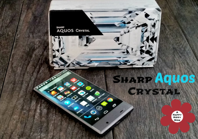Sprint Sharp AQUOS Crystal – High-tech Bang For Your Buck #SprintMom #MC #Sponsored