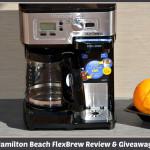 Hamilton Beach FlexBrew 2-Way Coffeemaker Review & Giveaway! #FlexBrew