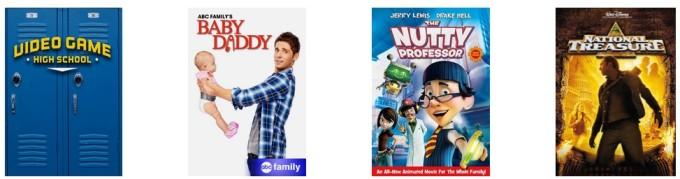 Netflix family april