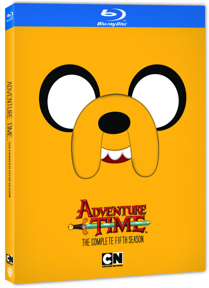 Adventure Time the Complete Fifth Season on Blu-ray!
