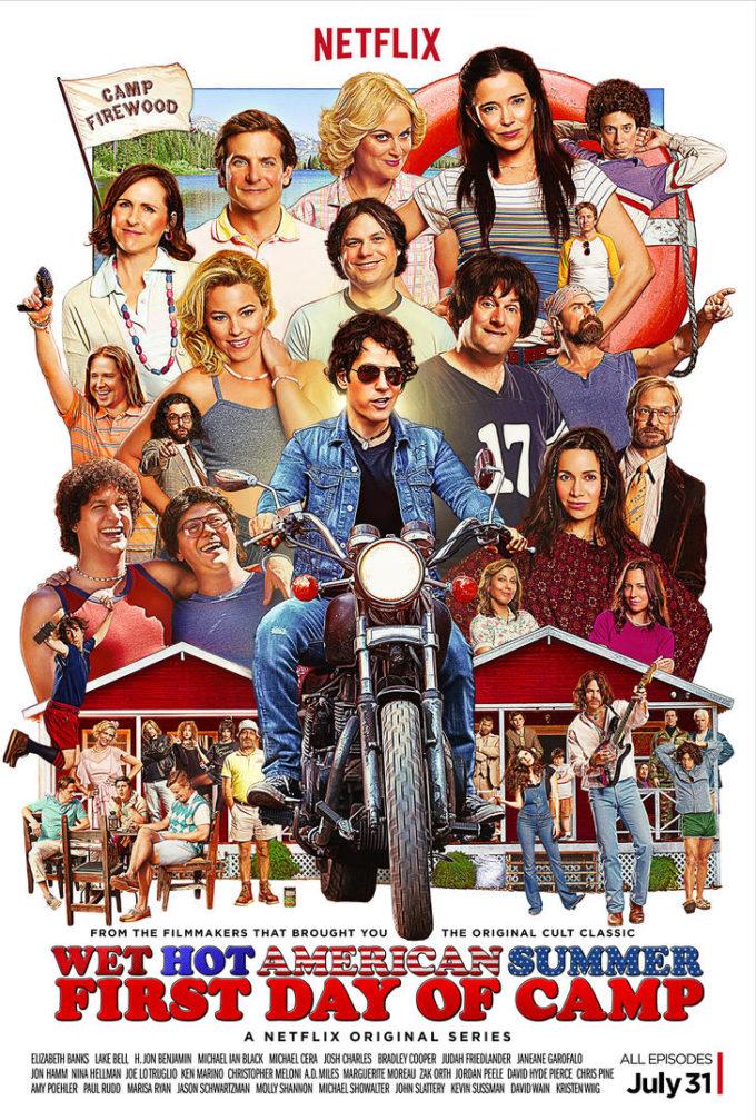 Netflix Original Series Wet Hot American Summer- First Day of Camp! #StreamTeam