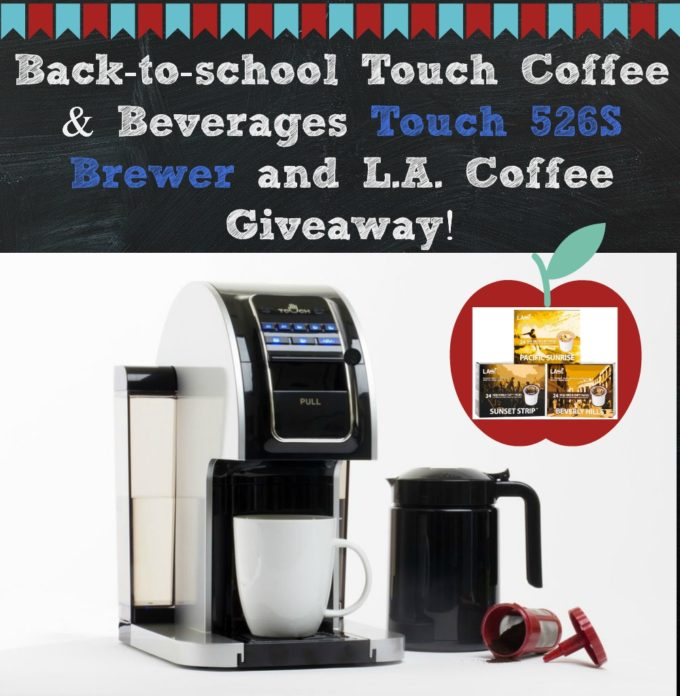 Faster-Bigger-Bolder- Touch 526S Coffee Brewer & L.A. Coffee!  #Giveaway