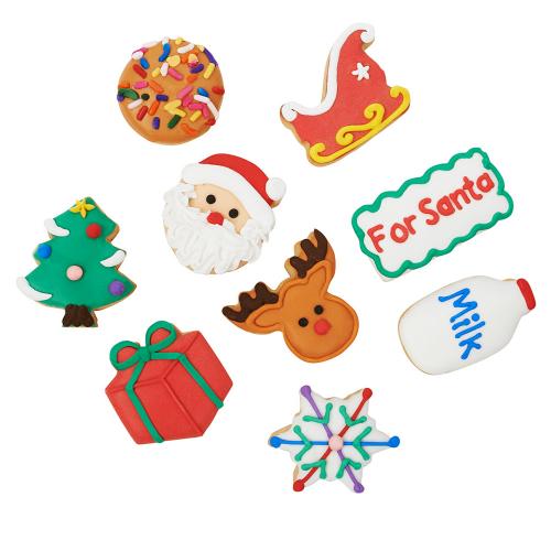 Christmas 10 Piece Petite Sugar Cookies