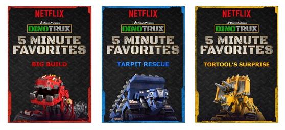 Dinotrux 5 Minute Favorites