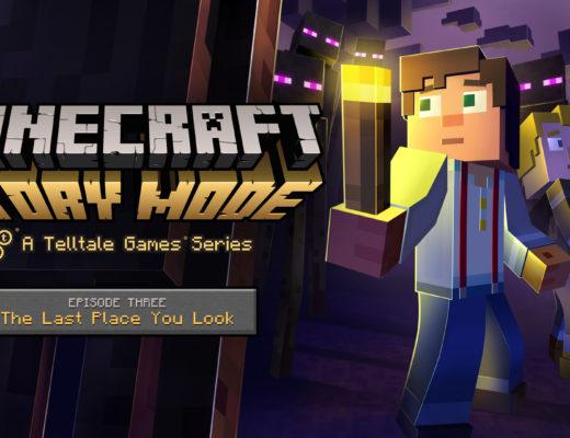 Minecraft Story Mode Ep 3 key art